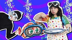 Don't Blame Me, Blame My Brain - Series 1: 8. Live Underwater