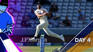 Cricket: Today At The Test - England V New Zealand 2021: 4. First Test: Day Four Highlights