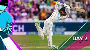 Cricket: Today At The Test - England V New Zealand 2021: 7. Second Test: Day Two Highlights