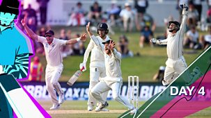 Cricket: Today At The Test - England V New Zealand 2021: 9. Second Test: Day Four Highlights