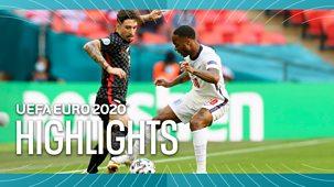 Euro 2020 - Highlights: England V Croatia, Austria V North Macedonia, Netherland V Ukraine