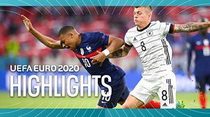 Euro 2020 - Highlights: Hungary V Portugal, Germany V France