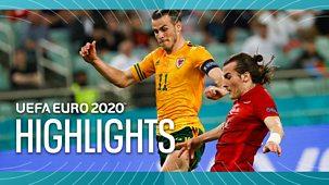 Euro 2020 - Highlights: Wales V Turkey, Russia V Finland, Italy V Switzerland