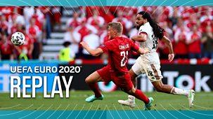 Euro 2020 - Replay: Denmark V Belgium