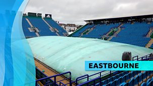 Tennis: Eastbourne - 2021: Day 1
