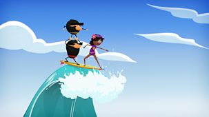 Ninja Express - Series 1: 12. An Epic Wave