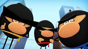 Ninja Express - Series 1: 13. A Flag