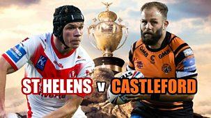 Rugby League: Challenge Cup - 2021: Final: St Helens V Castleford