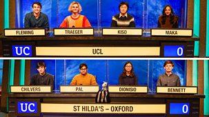 University Challenge - 2021/22: Episode 2