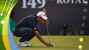 Golf: The Open - 2021: 3. Third-round Highlights