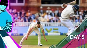 Cricket: Today At The Test - England V India 2021: Second Test: Day Five Highlights