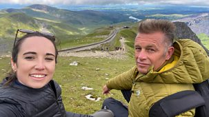 Chris And Meg's Wild Summer - Series 1: 2. Snowdonia