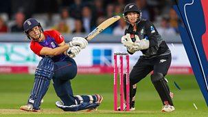 Women's T20 Cricket - 2021: England V New Zealand: First T20