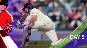 Cricket: Today At The Test - England V India 2021: Fourth Test: Day Five Highlights