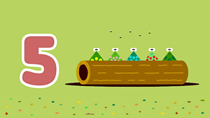 Hey Duggee - Top Of The Pups: Five Speckled Frogs