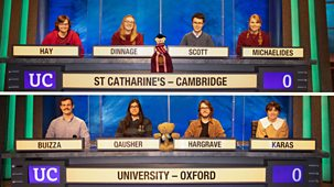 University Challenge - 2021/22: Episode 11