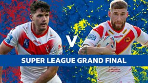 Rugby League: Super League Play-offs - Highlights - 2021: Grand Final: Catalans Dragons V St Helens