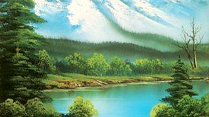 The Joy Of Painting - Series 5: 7. Mountain Lake Falls