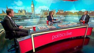 Politics Live - 18/10/2021