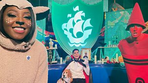 Blue Peter - Halloween, Nova Jones And Competition Winner Revealed!