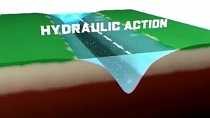 Erosion - hydraulic action