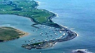 The coastline - longshore drift and spits