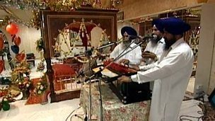 Sikh celebration and worship