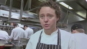 Tom Kitchin uses Scots words for food
