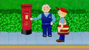 Animated story - Larry's first day as a postman