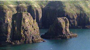 Wave cut platforms and headland erosion