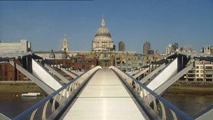 The Millennium Bridge - what caused the wobble?