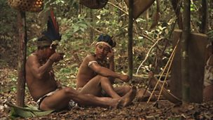 The Makushi tribespeople of Guyana