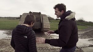 How did Britain move beyond trench warfare in WW1?