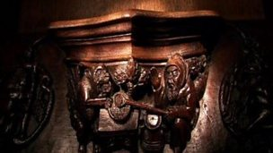The St Georges misericords