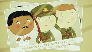 Footballer and officer Walter Tull