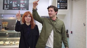 Alice Levine learns how to use her voice (pt 2/8).