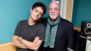 Jamie with Billy Joel