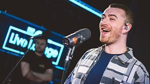 Sam Smith Live Lounge