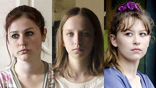 Смотреть три дамы и один молодой