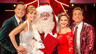 Step Into Christmas.Bbc One Strictly Come Dancing Series 15 Christmas