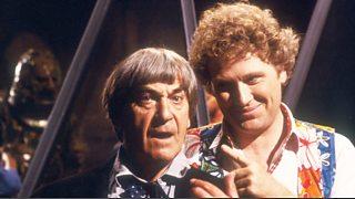 Risultato immagini per sixth doctor