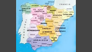 Map Of Spain La Mancha.Bbc Radio 4 The Invention Of Spain Episode 1 Images From The