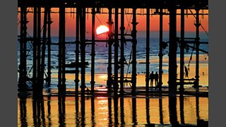 JANUARY: Pier Sunset by Tim Clifton