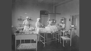 The operating theatre, Endell Street Military Hospital