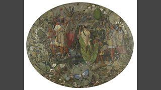 Richard Dadd. Contradiction. Oberon and Titania (1854-8)