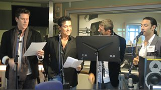 Bbc il divo perform live sir terry 39 s latest guests - Il divo cast ...