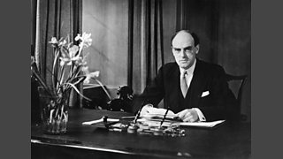 Sir John Reith established The Empire Service allowing King George V's first Christmas Broadcast to be heard across the globe