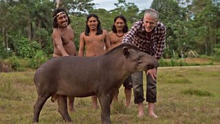 BBC Two - Tribes, Predators & Me, Series 1, Anaconda People