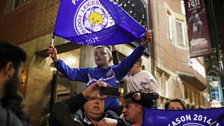 Watching History Being Made >> Bbc One East Midlands Today How Leicester Celebrated Lcfc S