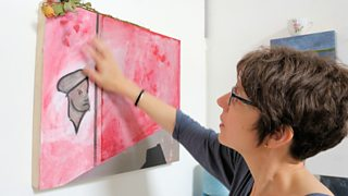 Visual artist Sonia Boué has made a series inspired by stages of Felicia Browne's life